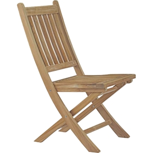 Marina Outdoor Patio Folding Chair - Natural