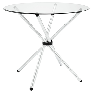 Baton Clear Dining Table