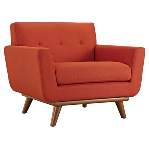Engage Upholstered Armchair - Tufted