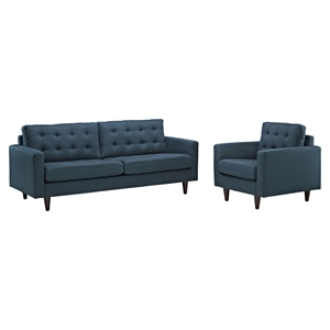 Empress Armchair and Sofa - Tufted