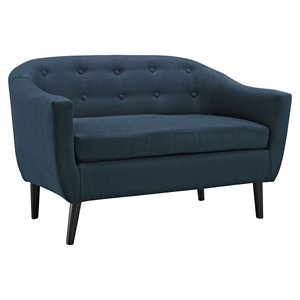 Wit Upholstery Loveseat - Button Tufted