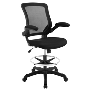 Veer Drafting Stool - Casters, Armrest, Adjustment Height