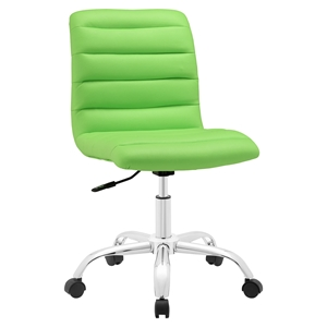 Ripple Armless Mid Back Office Chair - Swivel, Height Adjustable