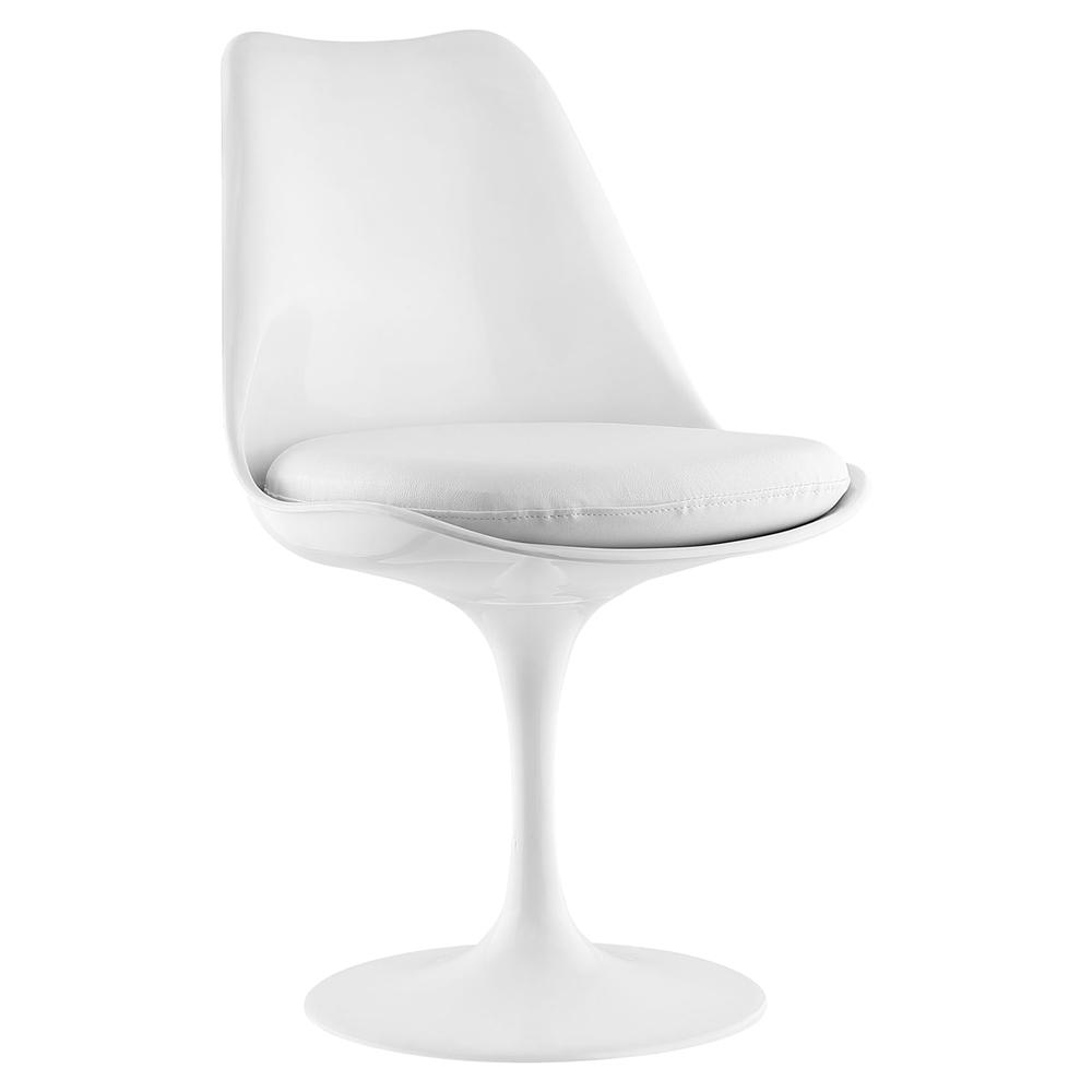 Lippa Leather Like Side Chair