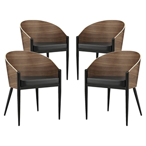 Cooper Dining Chair - Walnut (Set of 4)