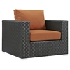 Sojourn 12 Pieces Outdoor Patio Sectional Set - Sunbrella Canvas Tuscan - EEI-1884-CHC-TUS-SET