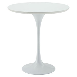 "Lippa 20"" Wood Side Table - White"