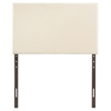 Region Twin Upholstered Headboard - Ivory - EEI-5214-IVO