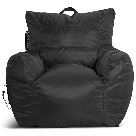 Big Maxx Kids Bean Bag Armchair - Black | DCG Stores