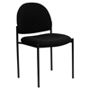 Stackable Side Chair - Black - FLSH-BT-515-1-BK-GG