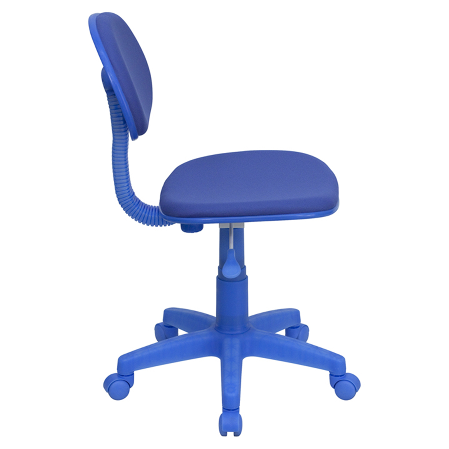 Fabric Swivel Task Chair Blue Dcg Stores