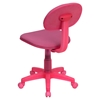 Fabric Swivel Task Chair - Pink - FLSH-BT-698-PINK-GG