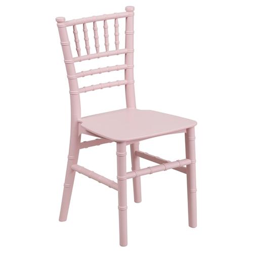 Kid Resin Chiavari Chair - Pink | DCG Stores