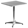 "23.5"" Square Bistro Table - Aluminum"