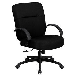 Hercules Series Big and Tall Office Chair - Height Adjustable Arms, Swivel