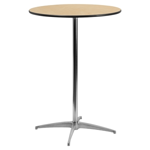 "30"" Round Cocktail Table - Natural"