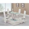 Tiago 5 Piece Dining Set - GLO-2108DT-027DC-5S