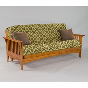 Boston Cherry Oak Futon Set