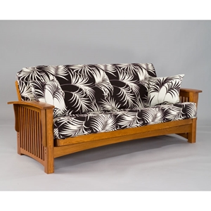 Manhattan Cherry Oak Futon Set