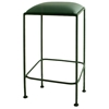 Square 24 Wrought Iron Backless Counter Stool Gmc