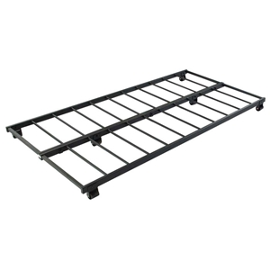 Twin Black Metal Roll-Out Trundle