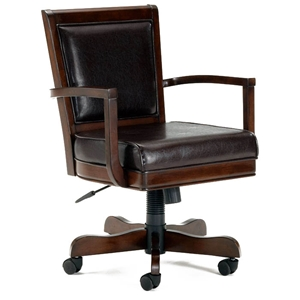 Ambassador Leather Game Chair