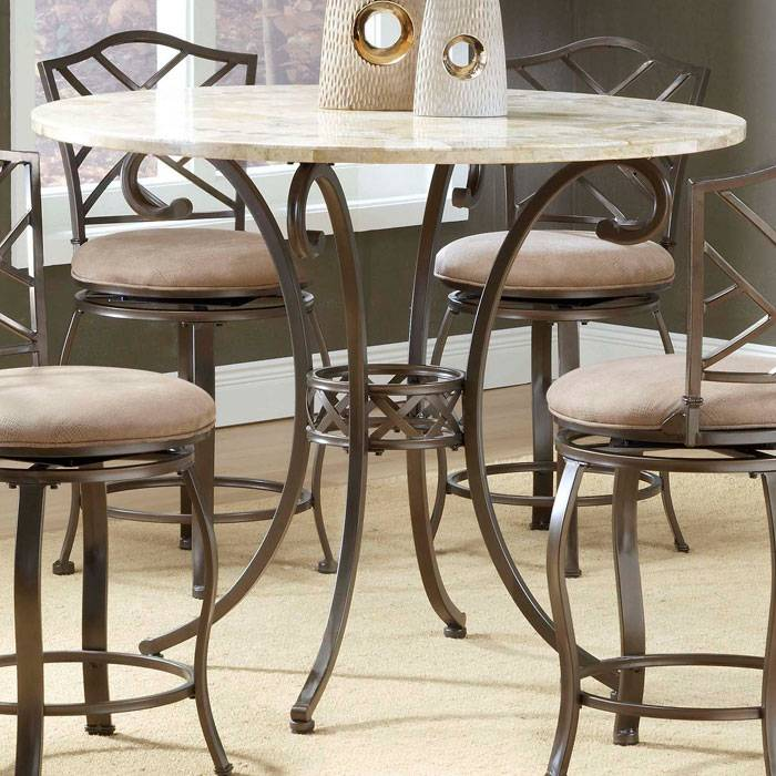 Dining Room Accent Pieces: Brookside Diamond Accent 5 Piece Counter Height Dining Set