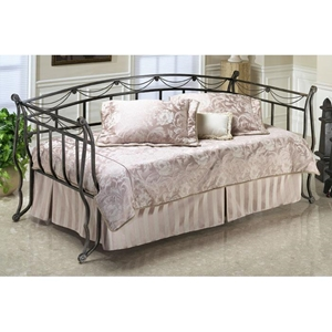 Camelot Metal Daybed in Black