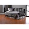 Carolina Black Daybed with Rollout Trundle - HILL-1592DBLHTR