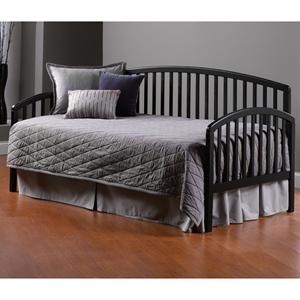 Carolina Black Daybed with Rollout Trundle