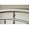 Claudia Arched Metal Bed - HILL-1685B
