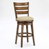 "Lenox 30"" Wooden Swivel Bar Stool in Chestnut - HILL-4719-830"