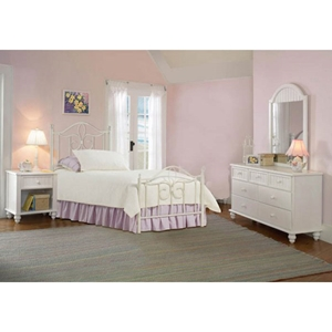 Westfield 4 Piece Bedroom Set with Metal Bed