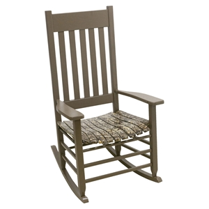 Realtree Max 4 Camouflage Rocking Chair - Brown