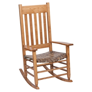 Realtree Max 4 Camouflage Rocking Chair - Maple