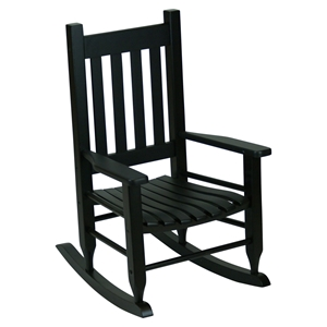 Plantation Childs Rocking Chair - Black