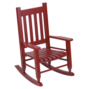 Plantation Childs Rocking Chair - Red