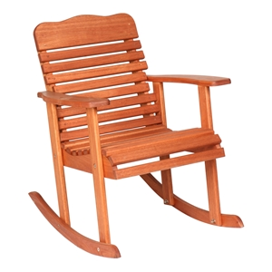 Red Grandis 950 Style Rocking Chair - Cinnamon