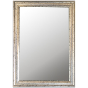 Edaline Wall Mirror - Inca Silver Frame, Made in USA