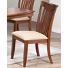 Karenina 5 Piece Extending Dining Set - Fabric Seat Chairs, Cinnamon - ICON-BT-60-DT-CN-SET