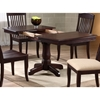 Karenina Extending Dining Table - Boat Shape Top, Mocha - ICON-BT-60-DT-MA