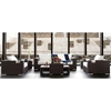 Titan 6 Piece All Weather Wicker Living Room Set in Mocha - INF-12130