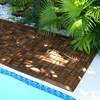 Le Click Flex Teak Interlocking Deck Tiles in Oiled Finish - INF-1989