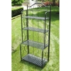 Mandalay Folding Baker's Rack in Antique Black
