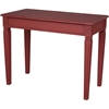 Ashbury Arte Writing Desk - Rectangular, Antique Red - INTC-PS-ARE-02-AR