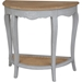 Ashbury Stradivarius Console Table - Half Moon, Antique Gray - INTC-PS-STR-13-AG