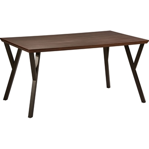 Hamburg Dining Table - Canyon Oak Top