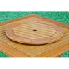 Royal Tahiti 28 Inch Wooden Lazy Susan