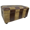 Marvin Mix Pattern Storage Bench / Trunk