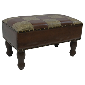 Derwin Two-Toned Rectangular Bench